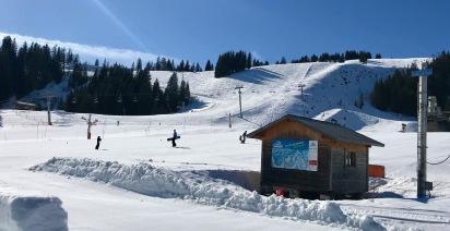 La Terchette - top of the gondola