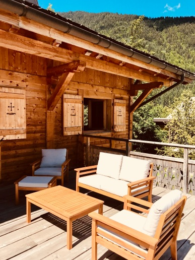 Terrace- facing the last run home