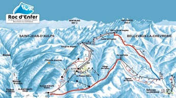 Roc d'Enfer Map